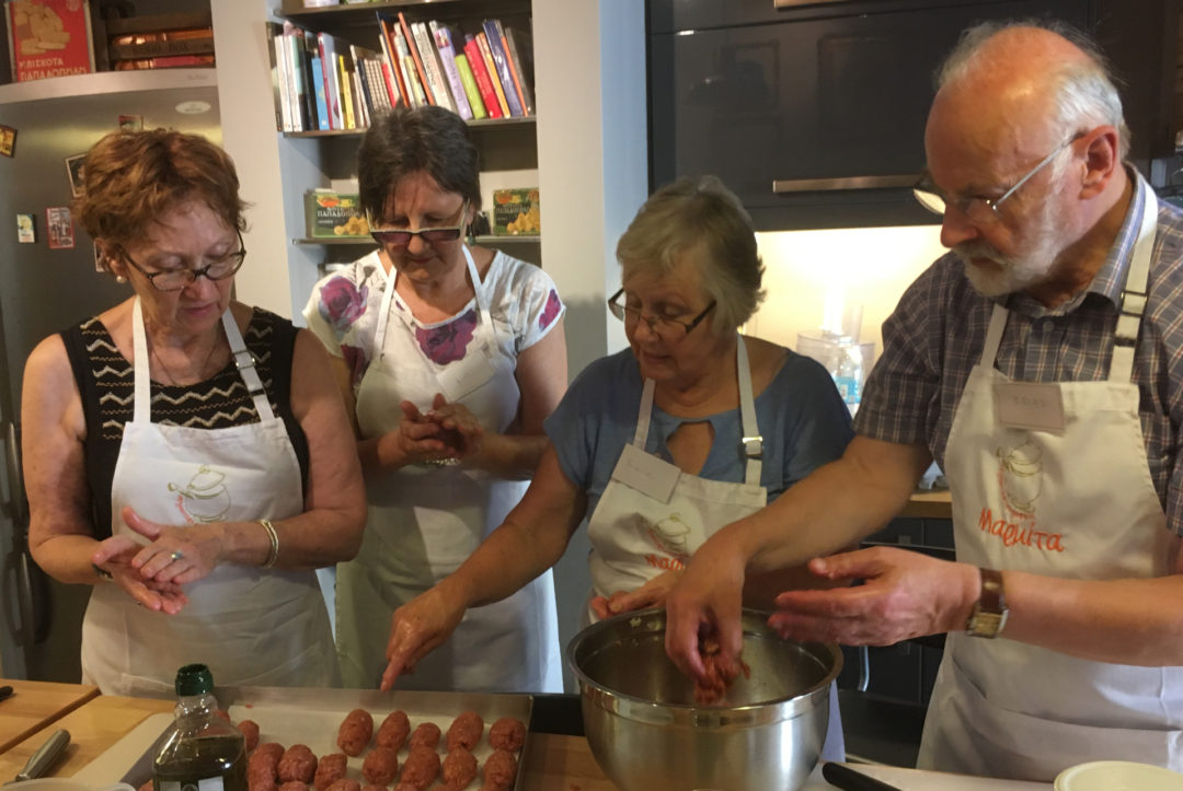 At My Mother's Table: Ellie's cooking club in Xanthi